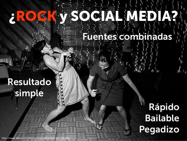 Rex Rock Club - Social Media Plan Slide 2