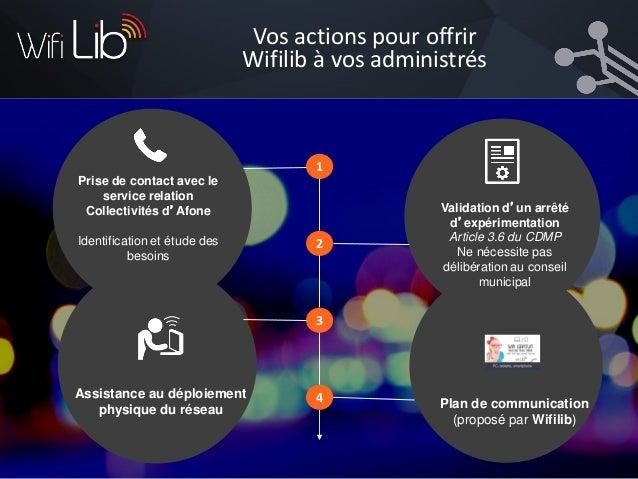 WifiLib: un service développé par Afone