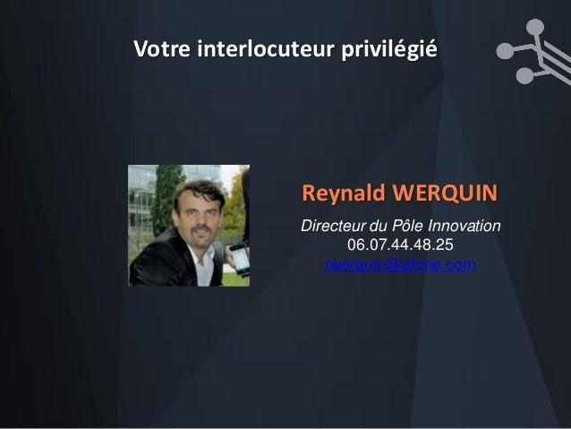 Reynald Werquin -  L'espace public communicant