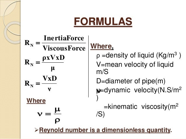 Reynold number (Fluid Mechanics)(FM)