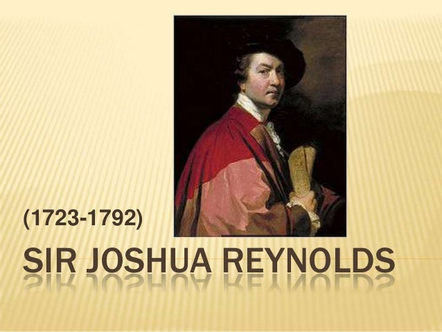 (1723-1792)SIR JOSHUA REYNOLDS
