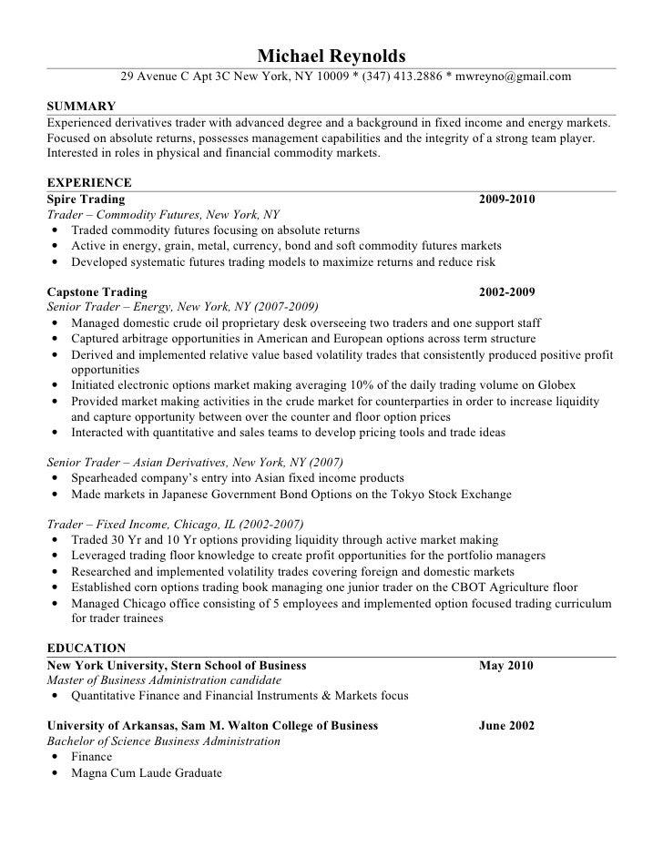Meat Trader Cover Letter. Resume Stock Clerk Stock Resume Sample ...