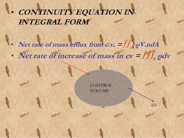 Reynolds transport theorem control volume da 13 altavistaventures Image collections