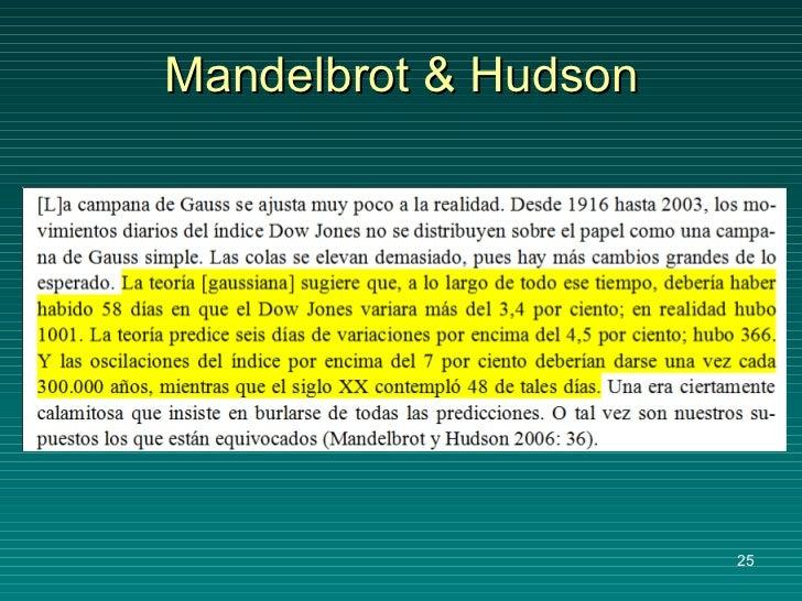 Mandelbrot & Hudson