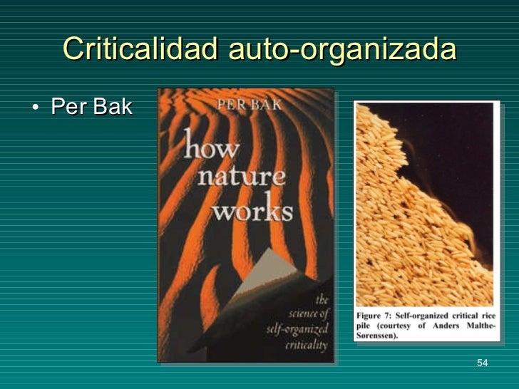 Criticalidad auto-organizada <ul><li>Per Bak </li></ul>