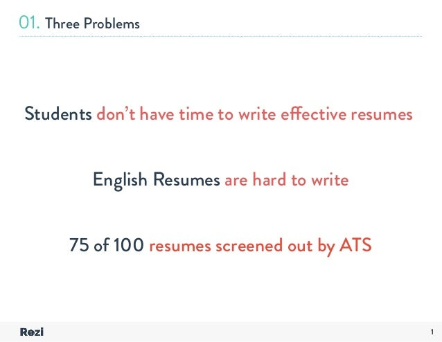 i don t have a resume