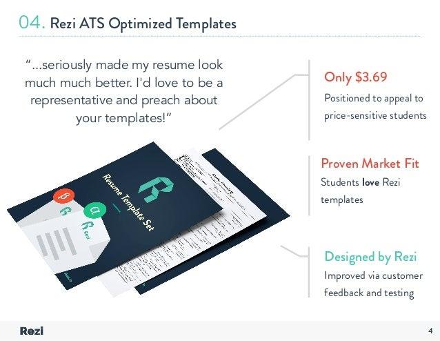 ... Companies; 5. 04. Rezi ATS Optimized Templates ...