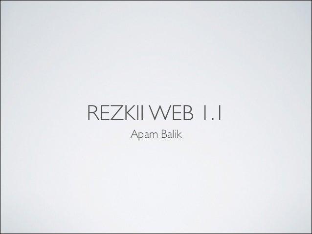 REZKII WEB 1.1 Apam Balik