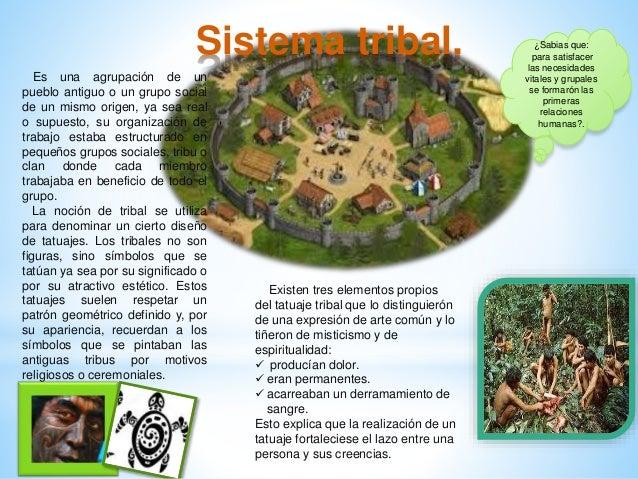 Sistema tribal. ¿Sabias que: para satisfacer las necesidades vitales y grupales se formarón las primeras relaciones humana...