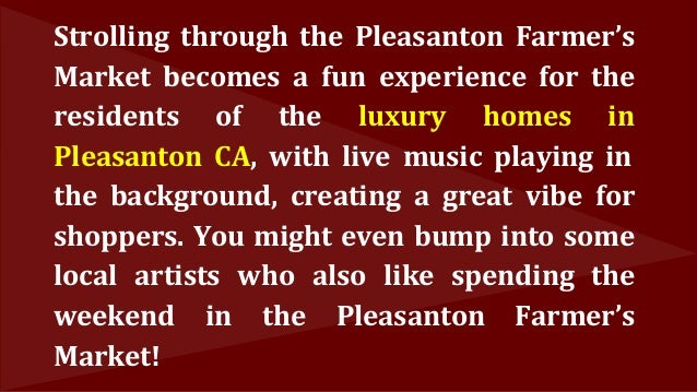 A Great Weekend Experience Awaits at the Pleasanton Farmers' Market