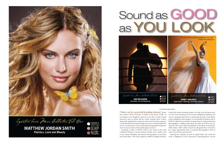"""Sound as Good as You Look                                                             by Martha Blanchfield """"Music can be ..."""