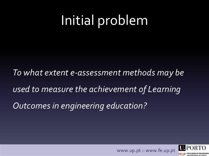 The ALOA model: assessment of Learning Outcomes  Slide 3