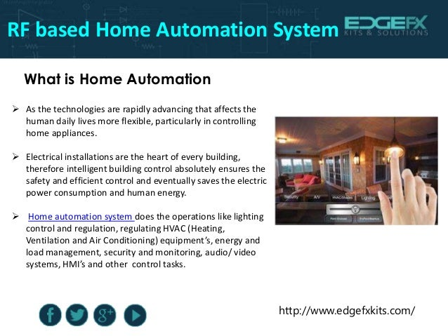 Rf based home automation system - Home automation energy saving ...