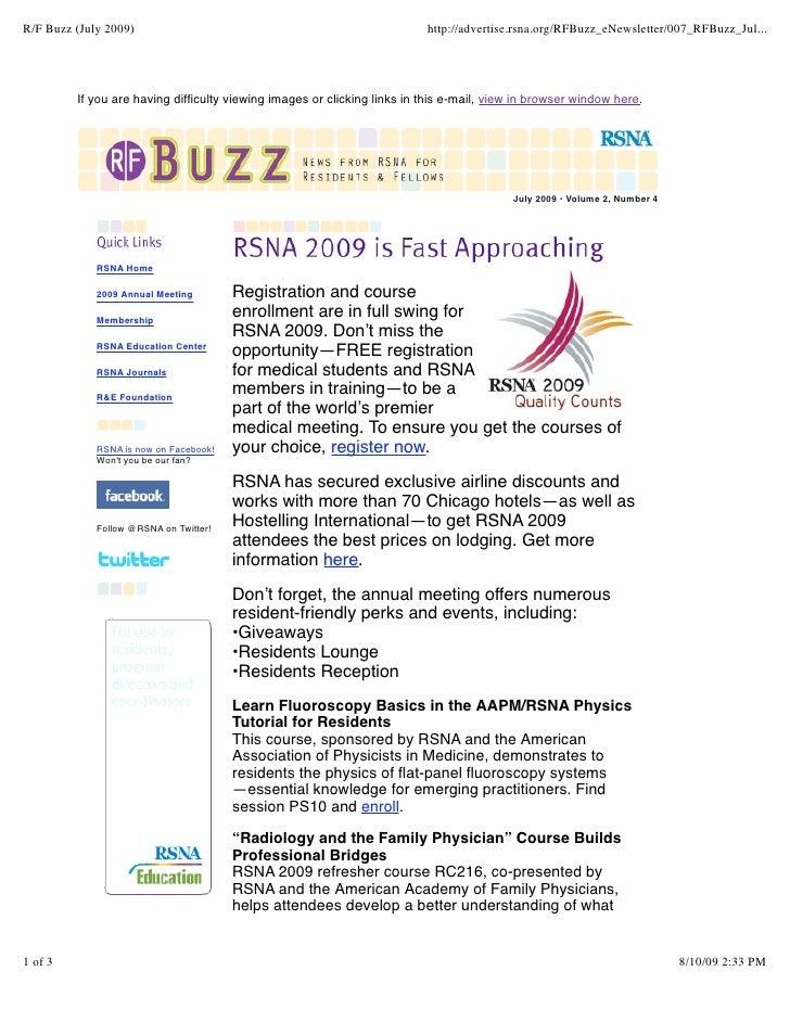 R/F Buzz (July 2009)                                                      http://advertise.rsna.org/RFBuzz_eNewsletter/007...