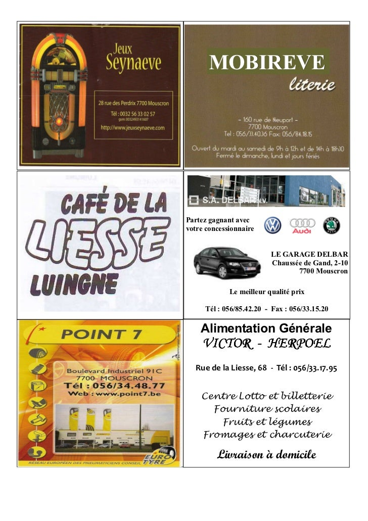 Magazine officiel du football club de luingne for Garage delbar vw mouscron