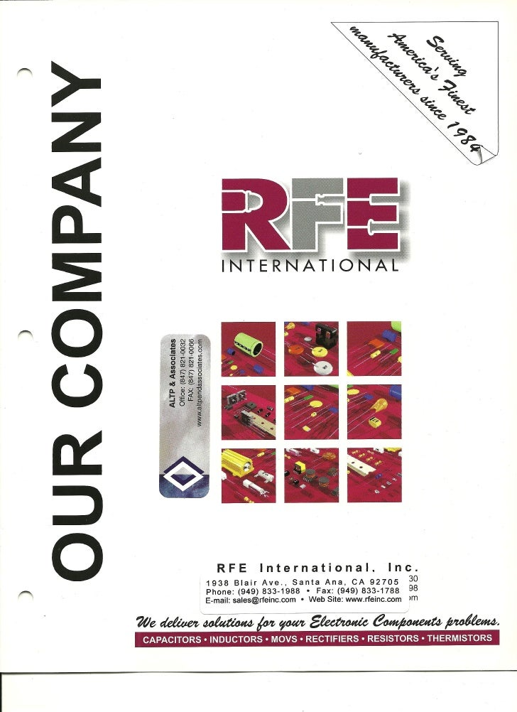 Rfe International, Inc.