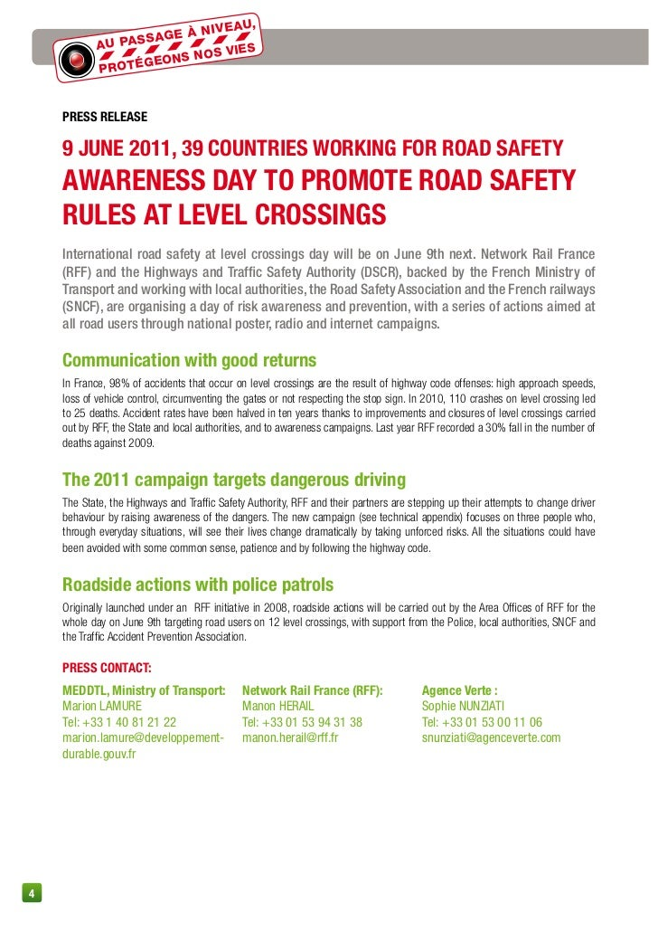 road safety wuestionaire The latest news, events, and statistics about rail safety education and operation lifesaver.