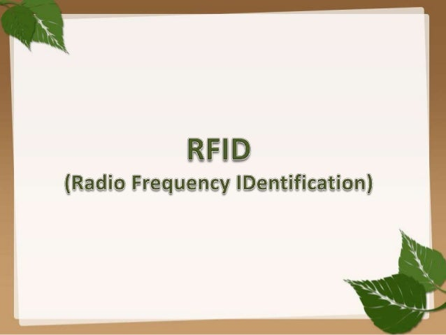 What is RFID  chip  Antenna  Radio-frequency identification (RFID) is the use of a wireless noncontact system that uses ra...