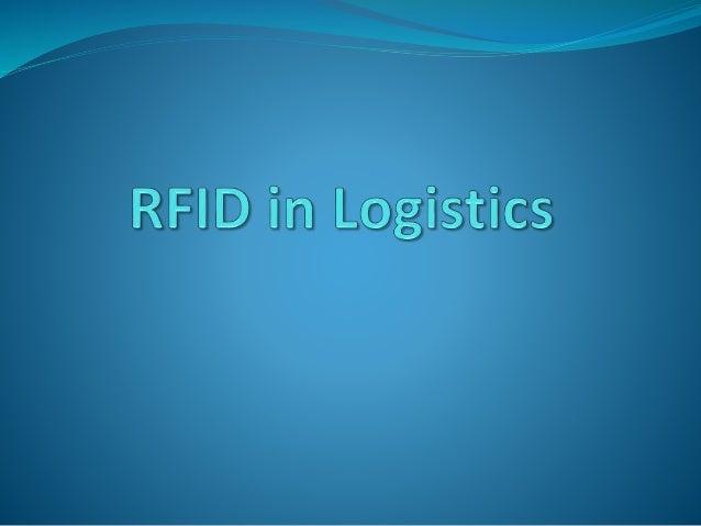 R F I D Radio Frequency IDentification