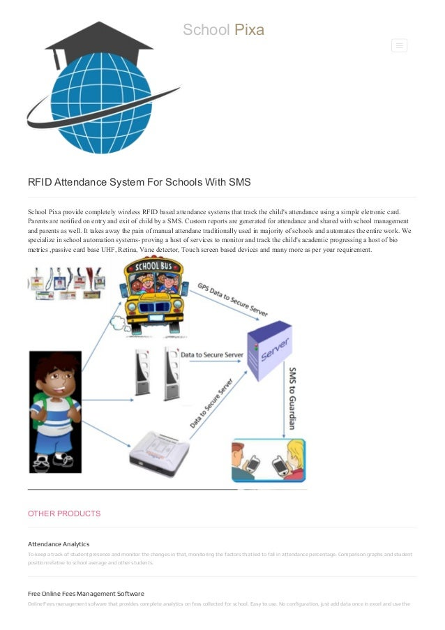 RFID Attendance Management System With SMS For Schools