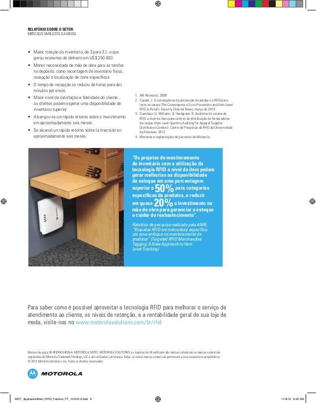 """""""Os projetos de monitoramento de inventário com a utilização da tecnologia RFID a nível de item podem gerar melhorias na d..."""