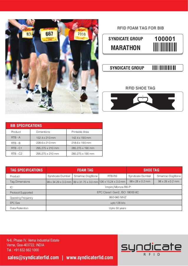 Rfid race timing solutions and sports tracking systems