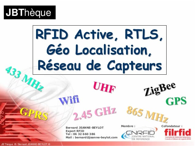 JBThèque                          RFID Active, RTLS,                           Géo Localisation,                          ...
