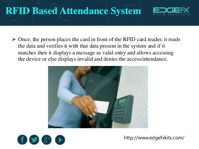 thesis on rfid based attendance system Lyceum of the philippines university – laguna student electronic attendance and logging system rfid and sms with a web-based management portal that allows user to.
