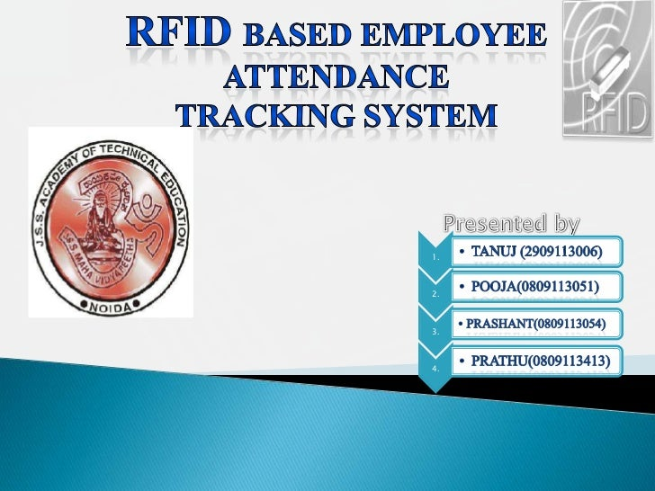rfid attendance monitoring system