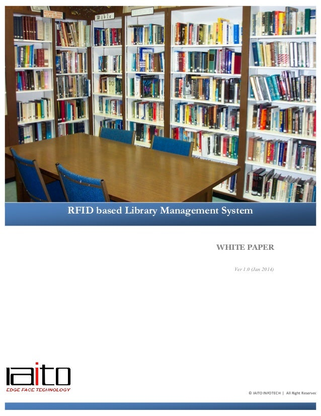 rfid based library management system thesis 11 library and archives a conceptual rfid-based system structure and data storage figure 4-4 design of rfid based inspection/maintenance management system.