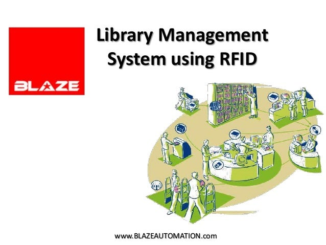 Library Management  System using RFID  www.BLAZEAUTOMATION.com