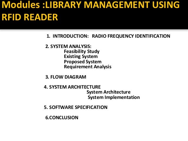 Rfid in assets and library management ccuart Images