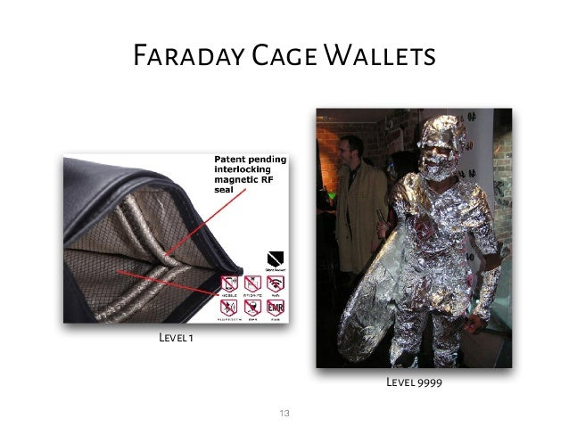 13 Faraday Cage Wallets Level 1 Level 9999