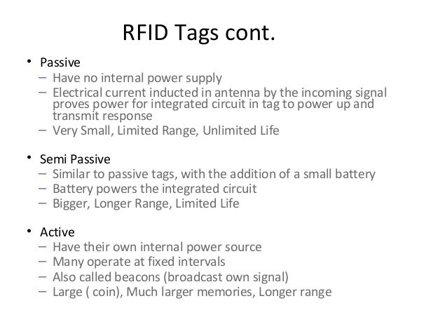 applications of rfid Information on the types of small business applications of rfid, the types of rfid , and how to work with experts to implement rfid solutions.