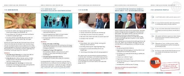 Informationsflyer zum Beratungsangebot des BeraNet in SH Slide 2