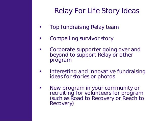 Ppt american cancer society relay for life powerpoint.