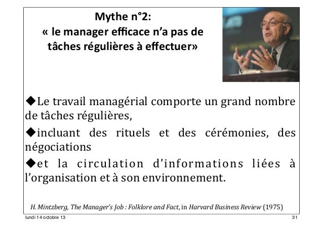 "critique the manager's job folklore and fact The drucker institute - strengthening organizations to strengthen society ""the manager's job: folklore and fact."
