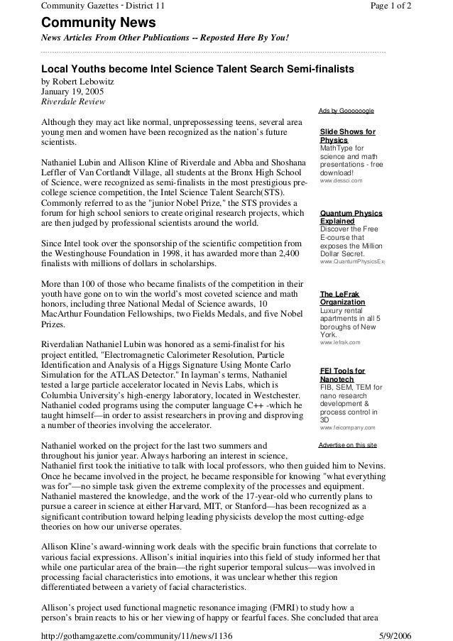 Community Gazettes - District 11                                                                  Page 1 of 2Community New...