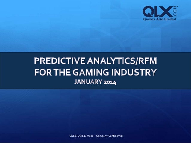 Casino predictive analytics