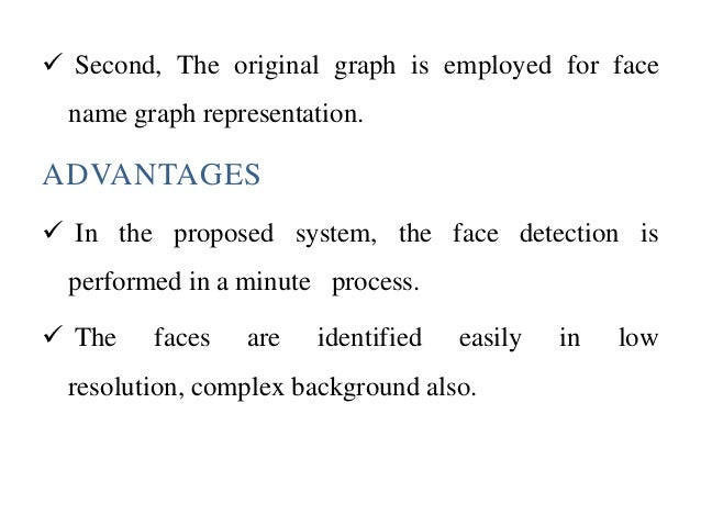 robust face name graph matching essay Robust face-name graph matching for movie character identification bmaheswari bsindhiya 2nd msc(cs) assistant professor department of computer science department of computer science.