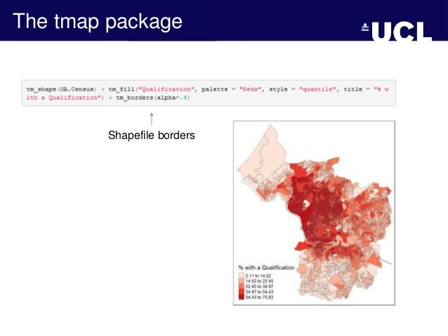Using R to Visualize Spatial Data: R as GIS - Guy Lansley