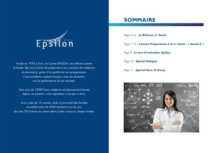 SOMMAIRE                                                                     Page 4   ›   6 - La Réforme L1 Santé         ...