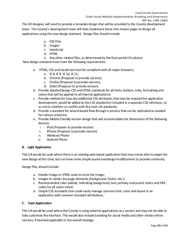 Simple Website Proposal Template Romeondinez