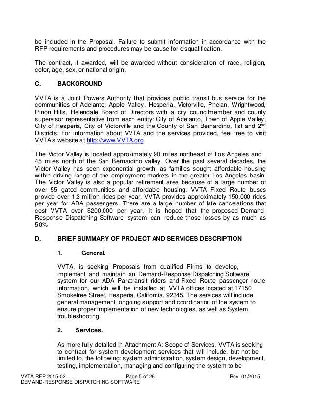 responding rfp cover letter