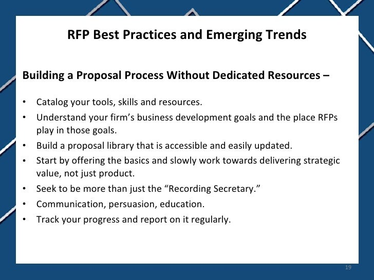 Rfp Best Practices And Emerging Trends 19 728gcb1268644253