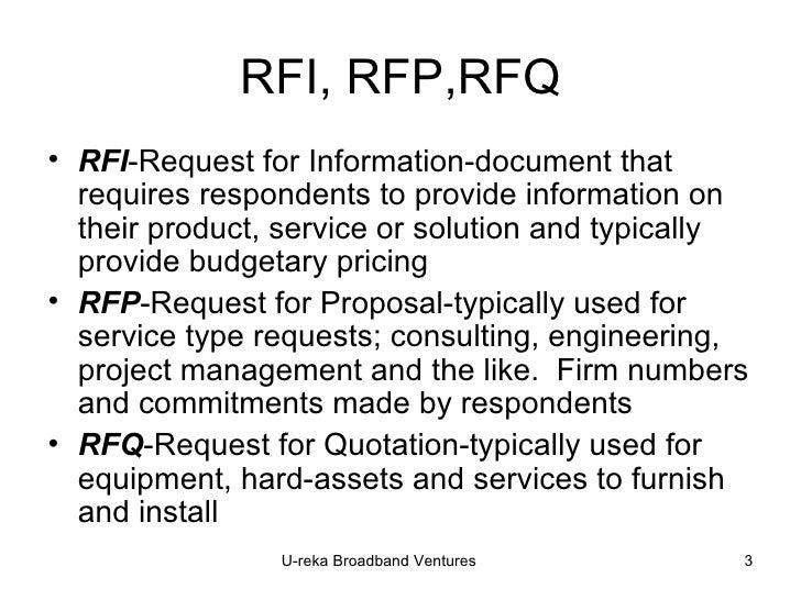 It Service Management: Rfp It Service Management