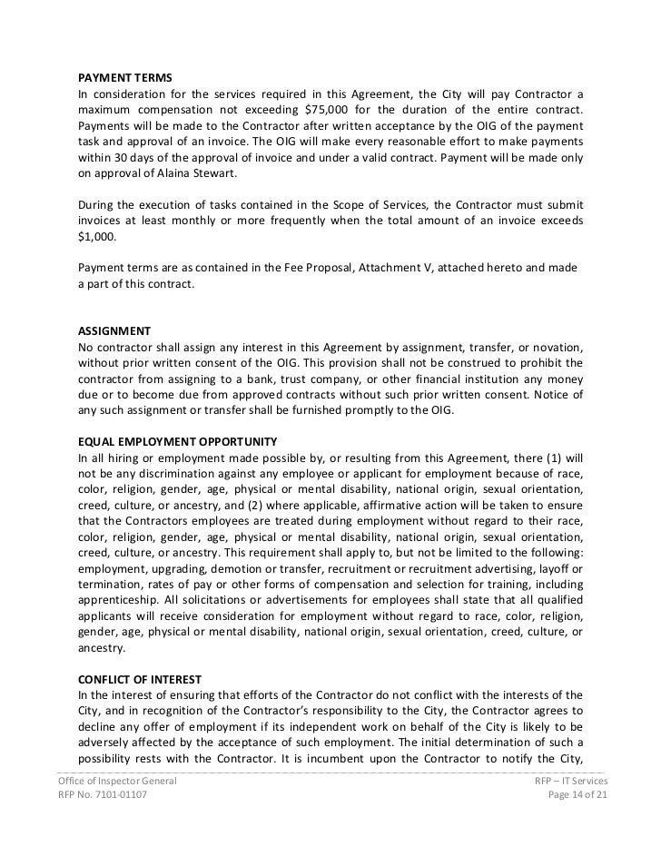 Payment Services Agreement Gallery Agreement Letter Format