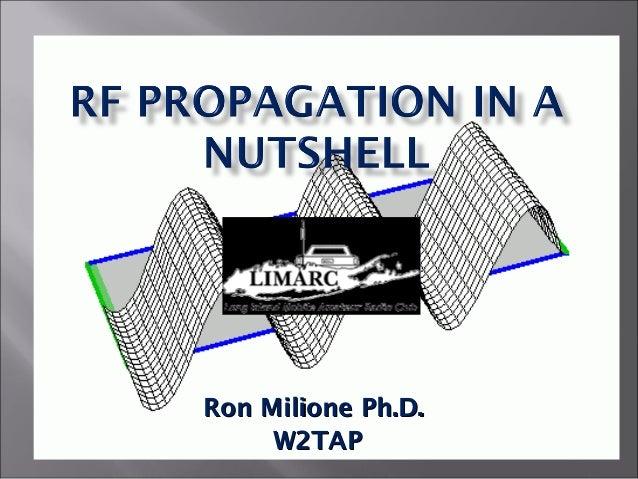 Ron Milione Ph.D.Ron Milione Ph.D.W2TAPW2TAP
