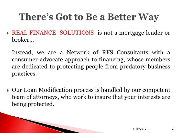 Rfs Scott Fain W Loan Mod Slide 2