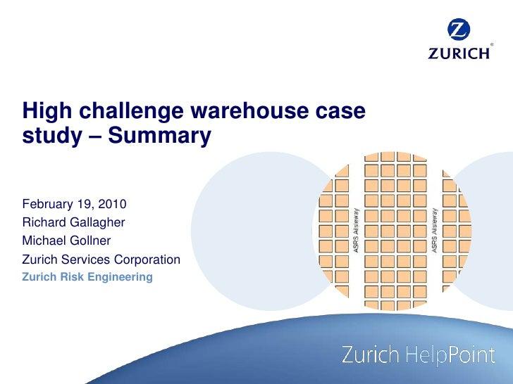 rechter Rand<br />right margin<br />marge droite<br />margine destra<br />High challenge warehouse case study – Summary<br...